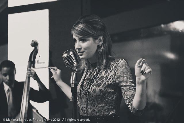 Lorenza Pozza canta Jazz&Chansons em casamento em São Paulo