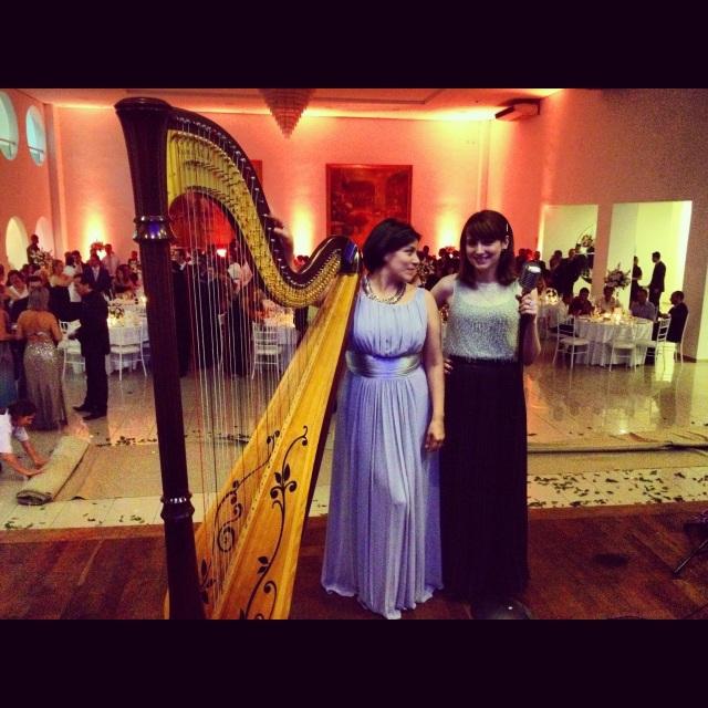 Soledad e Lorenza - Instagram @harpaevoz