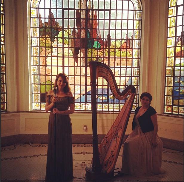 Lorenza Pozza e Soledad Yaya no Palacio dos Cedros  (Harpa&Voz)