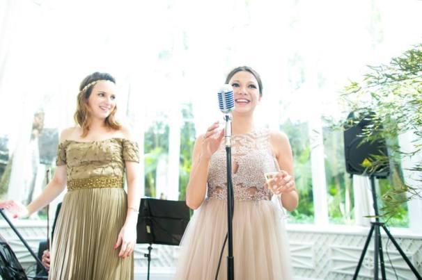 O brinde da noiva - Foto: Giselly Gonçalves